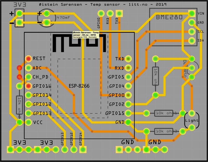 Eget PCB design
